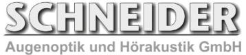 Augenoptik & Hörakustik Schneider Logo